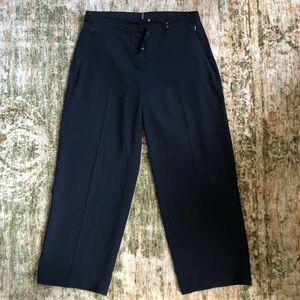 Elie Tahari Navy Trousers